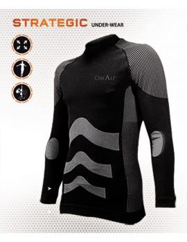 CIMALP - Teeshirt thermique Bambou + Soie Strategic