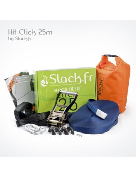 SLACK.FR - Kit Click 25 m - 25 mm