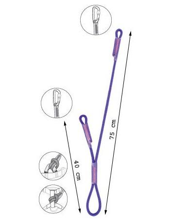 BEAL - Longe double Dynadoubleclip