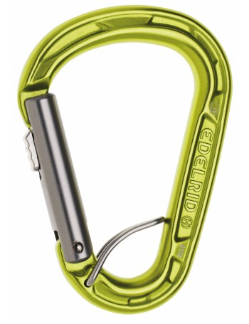 EDELRID - Mousqueton HMS automatique unidirectionnel Strike Slider FG