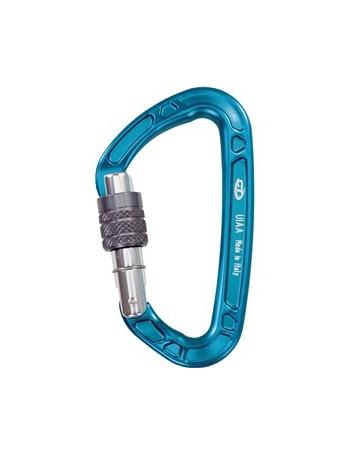 CLIMBING TECHNOLOGY - Mousqueton à vis Aérial Pro SG bleu
