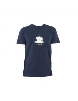 ABK - Teeshirt Coffee Tee Dark Marine
