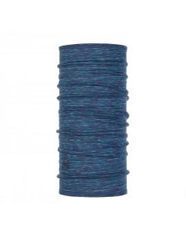 BUFF - Tour de cou en laine Mérinos Blue Multi Stripes